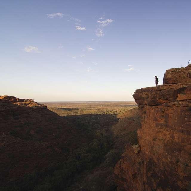 Kings Canyon, Centre Rojo - Tour Guiado en Australia