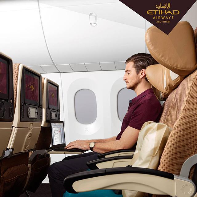 Clase turista Ethiad Airways