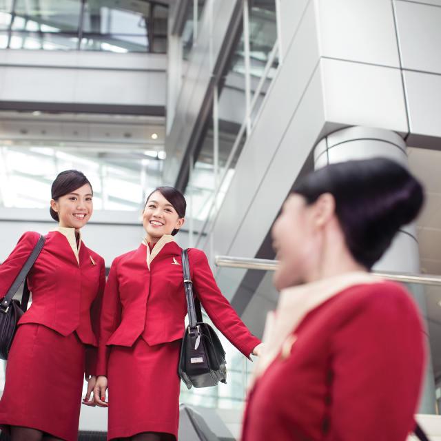 Équipage de la compagnie aérienne Cathay Pacific