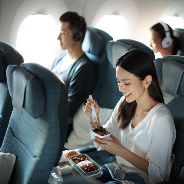 La compagnie aérienne Cathay Pacific