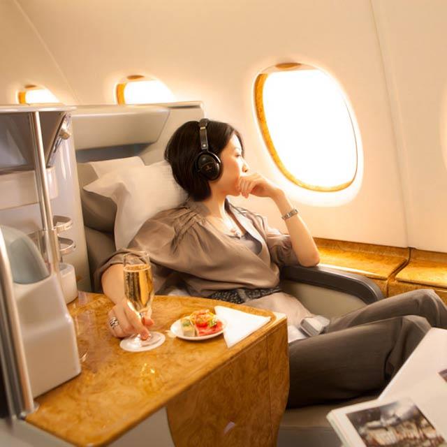La Primera Clase de Emirates