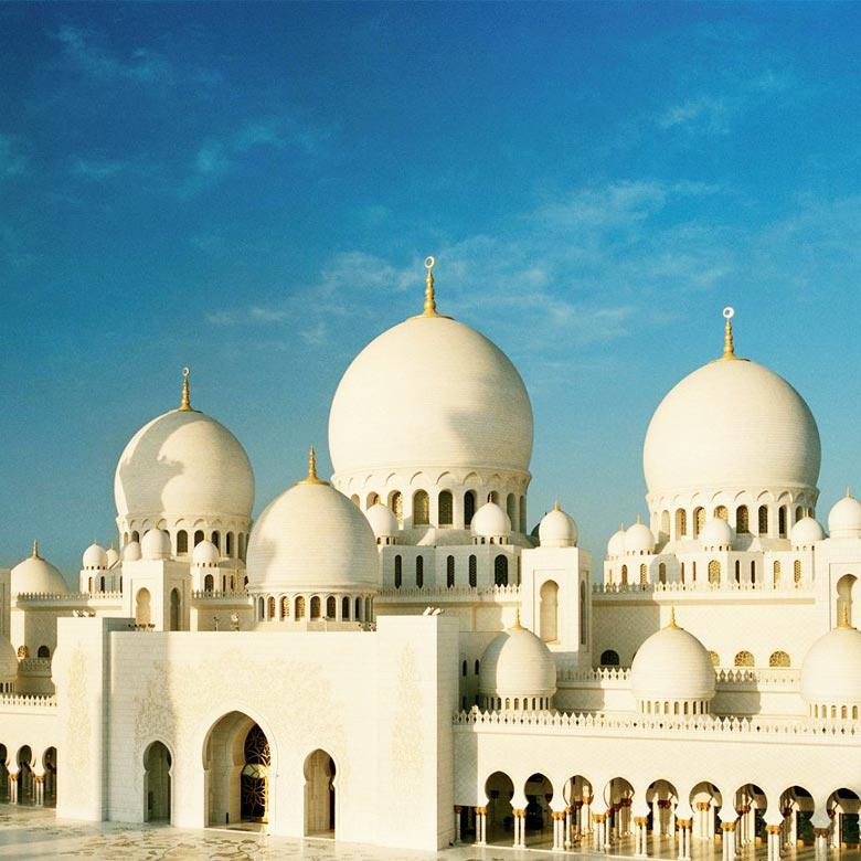 Abu Dhabi Mesquita - Ciudad Escala en vuelos Australia