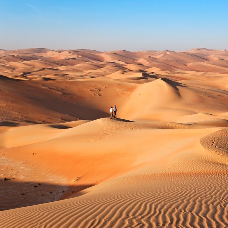 Desierto de Abu Dhabi - Ciudad Escala Abu Dhabi vuelos Australia
