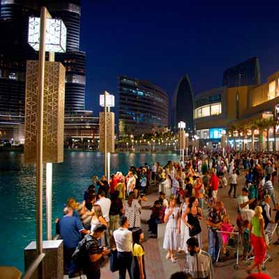 Dubái Mall - Ciudad Escala vuelos Australia