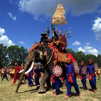 Festival en Bangkok - Ciudad Escala vuelos Australia