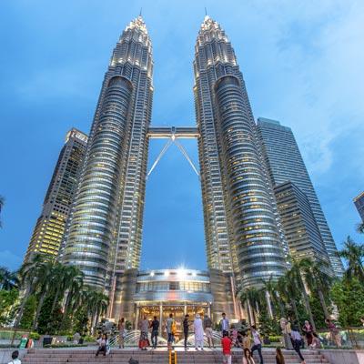 Torre Petronas Kuala Lumpur -Ciudad Escala vuelos Australia