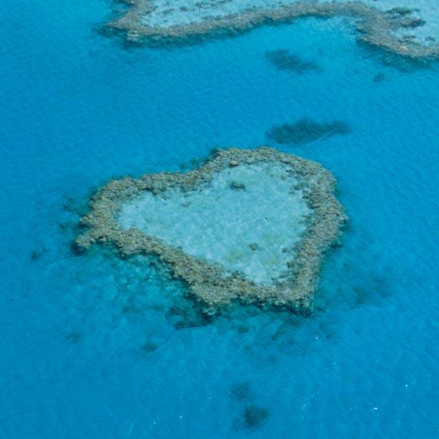 Arrecife Corazón - Viaje de Novios Romántica Australia