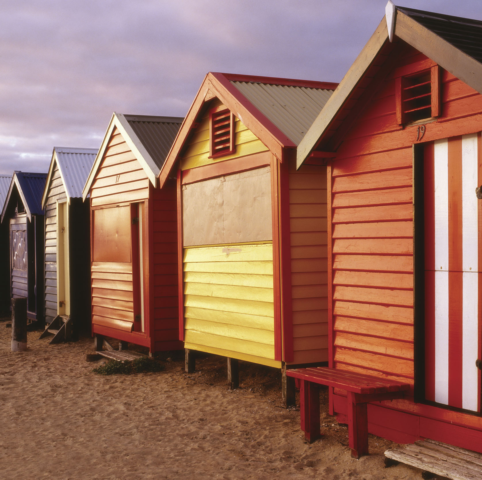 Brighton Beach Melbourne - Viaje por el sur de Australia