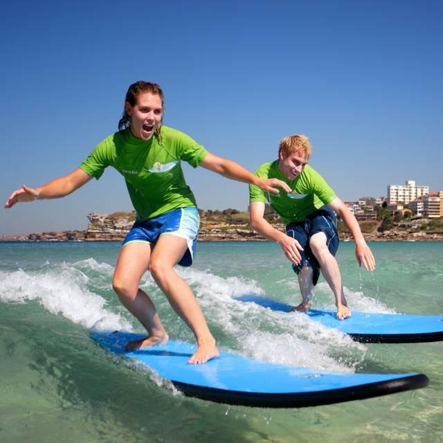Surfistas en Sydney - Viaje a Australia en Familia