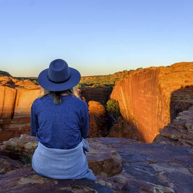 Ruta por el Desierto Rojo Australiano