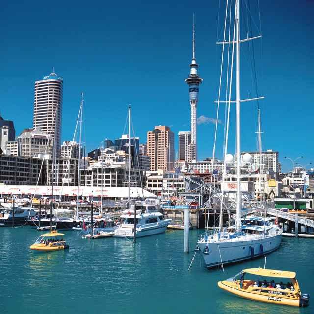 Auckland Nueva-Zelanda - Viaje a Australia y Nueva Zelanda