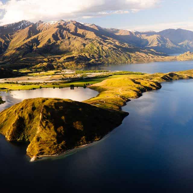 Lake Wanaka - Viaje a Australia y Nueva Zelanda